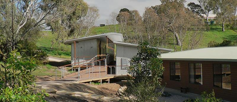 Tara Hills meditation retreats - new accommodation building