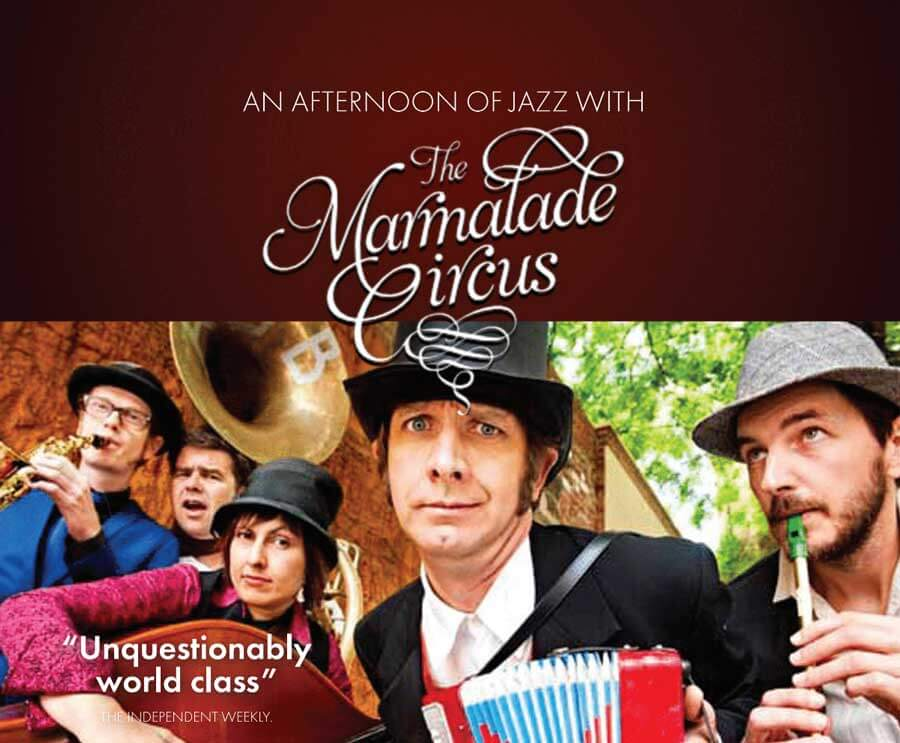 The Marmalade Circus jazz group