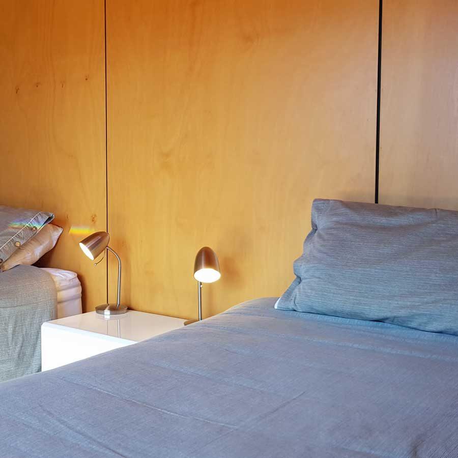 2 x King Single beds