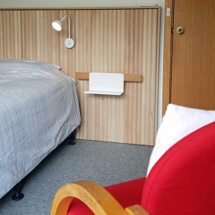Kookaburra room - view of bed